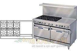 "Imperial Commercial Restaurant Range 60"" With 6 Burners 24"""