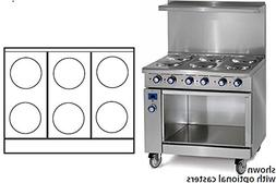 """Imperial Commercial Restaurant Range 36"""" With 6 Elements Ope"""