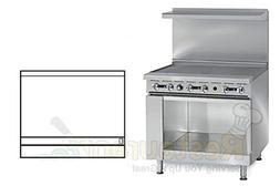 """Imperial Commercial Restaurant Range 36"""" Griddle 1 Cabinet B"""