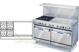 "Imperial Commercial Restaurant Range 60"" With 4 Burners 36"""