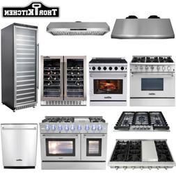 Thor kitchen Cooking Gas Range Stoves, Dishwasher, Range Hoo