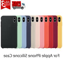 Cover For Apple iPhone 8 Plus 7 Plus XS Max XR Luxury Silico