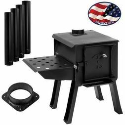 "CUB"" Portable Camp/Cook Wood Stove Kit"