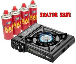 Gas ONE Deluxe Portable Butane Gas Stove Automatic Ignition