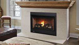 """Superior Direct Vent Gas Fireplace 40"""" Top Vent Natural Gas"""