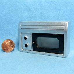 Dollhouse Miniature Kitchen Microwave ~ Over Stove or Counte