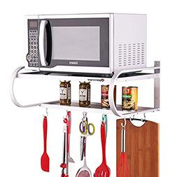 SPACECARE Double Bracket Alumimum Microwave Oven Wall Mount