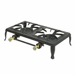 Stansport Double Burner Cast Iron Stove
