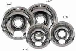 drip pans reflector bowl 4pc set 6