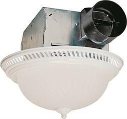 Air King DRLC703 Decorative Round Quiet Exhaust Bath Fan wit