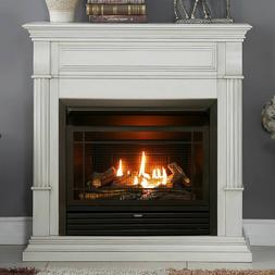 Duluth Forge Dual Fuel Ventless Gas Fireplace - 26,000 BTU,