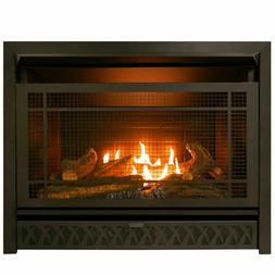 Procom Ventless  Gas Fireplace Insert Duel Fuel 26,000BTU, M