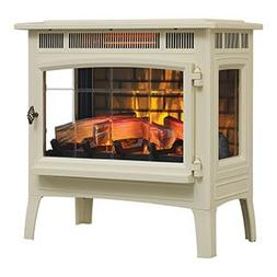 Duraflame 5010 3D Cream Infrared Freestanding Stove