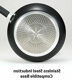 "T-Fal E9380894 Professional Total Non-Stick 12.5"" Saute Pan,"