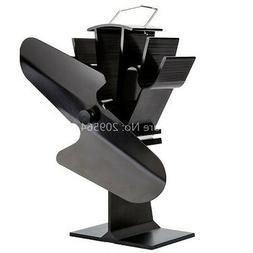 Efficiency Heat spreader fan for wood stove