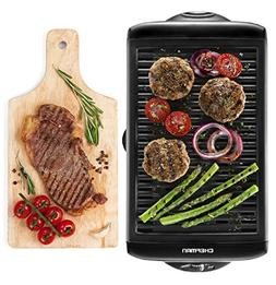 Chefman Electric Smokeless Indoor Grill - Griddle w/ Non-Sti