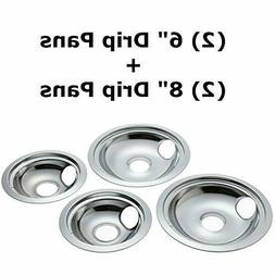 """Electric Stove Drip Pan for Frigidaire Kenmore2x6""""2x8"""" Speed"""