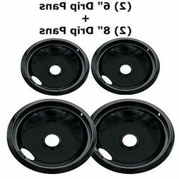 Electric Stove Drip Pans for Amana Crosley Frigidaire Burner