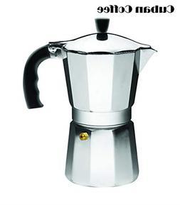 Espresso Stove Top Coffee Maker 6 Cup Pot Continental Moka P
