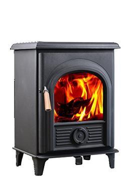 Hi-Flame FF-905 Shetland Wood Stove, Black