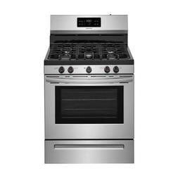Frigidaire FFGF3054TS 30 Inch Gas Freestanding Range with 5