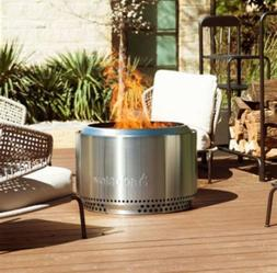 Solo Stove Fire Pit 30 in. x 16 in. Low-Smoke Round Stainles