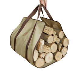 Firewood Log Carrier Heavy Duty Canvas Firewood Log Wood Car