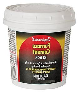 Furnace Cement Black 32Oz Imperial Manufacturing Cements KK0