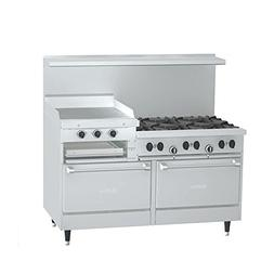 "Garland X60-6R24RR Sunfire 60"" Gas Restaurant Range with  30"