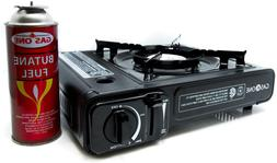 GAS ONE GS-3000 Portable Gas Stove with Carrying Case, 9,000