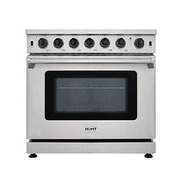 New Arrival 36 Inch Gas Range 6 Burners Cooktop 6.0 cu.ft Ov