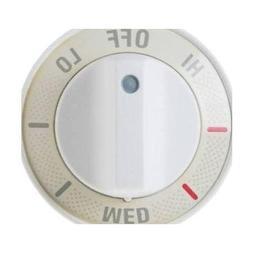 GENERAL ELECTRIC Range Control Knob - White