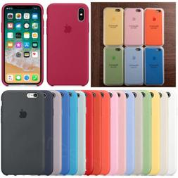 Genuine Ultra Slim Silicone Case Cover for Apple iPhone X XR