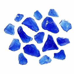 Glass For Fire Pits Turquoise 10 Lb Fireplace Patio Propane