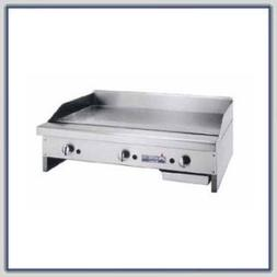 "American Range Griddle, Gas, 60"" Wide, 1"" PLAT"