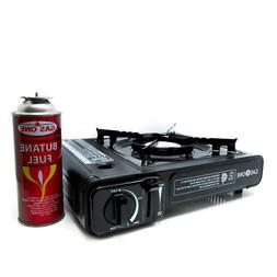 gs 3000 portable gas stove with carrying