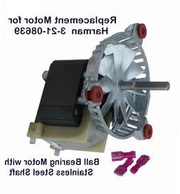 HARMAN PELLET STOVE EXHAUST- COMBUSTION BLOWER MOTOR    -