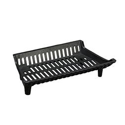 "Heavy Duty 22"" Cast Iron Small Fireplace Grate Basket Style"