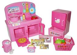 Hello Kitty Kitchen Set with Oven, Stove, Refrigerator and V