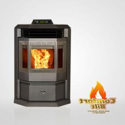 Comfortbilt HP22 Carbon Black Pellet Stove Fireplace 50000 b