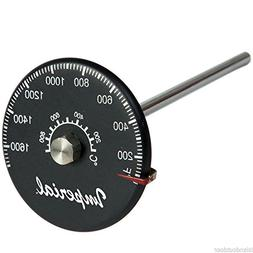 Imperial Flue-Gas Stove Pipe Probe Thermometer 1,700f w/ Mag