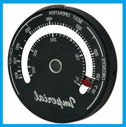 IMPERIAL STOVEPIPE THERMOMETER Woodstove Pellet Stove Burn I