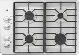 GE JGP3030DLWW 30 Inch Natural Gas Sealed Burner Style Cookt