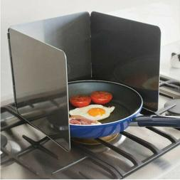 Kitchen Anti Splatter Shield Guard For Stove Bacon Grease Fr