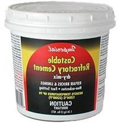Imperial Manufacturing KK0062 Castable Refractory Cement, Dr