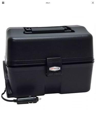 12 volt portable stove black automotive travel