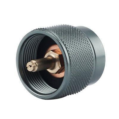 1x small gas tank adapter 1lb camping