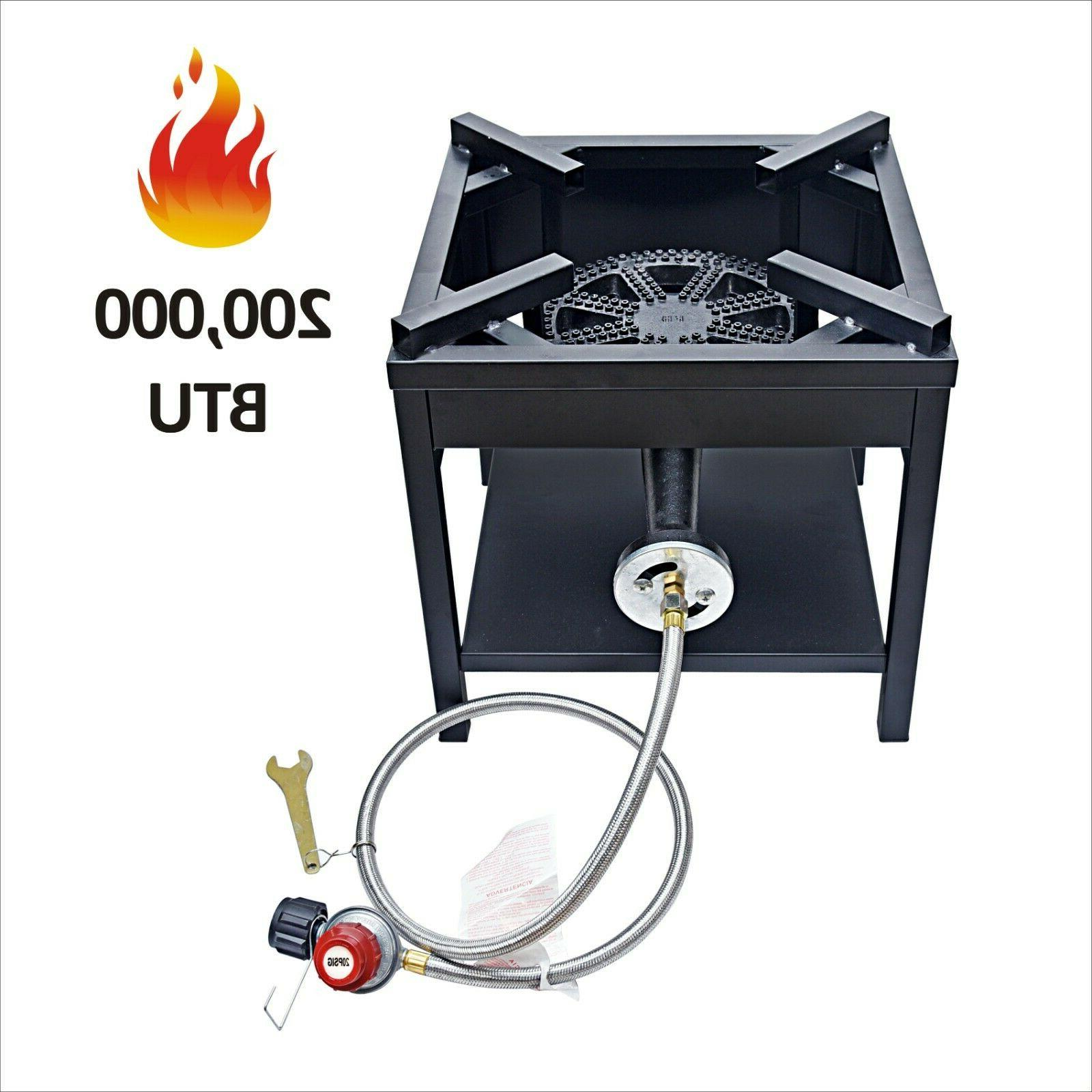 200,000 BTU Outdoor High Pressure Cast Iron Propane Burner G