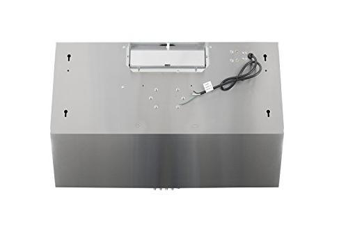 Cosmo 5U30 Range Ducted / Top / Back , Vent , 3 Speed Exhaust Fan Filter Light
