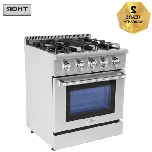 30 gas rangetop oven hrg3080u 4 burner